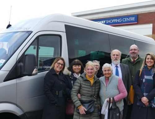 Christmas Comes Early For Parkway Community Bus Users