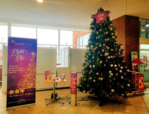 Teesside Hospice Light up a Life Tree at the Parkway