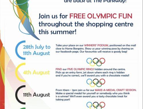 Olympic Summer Fun at Parkway