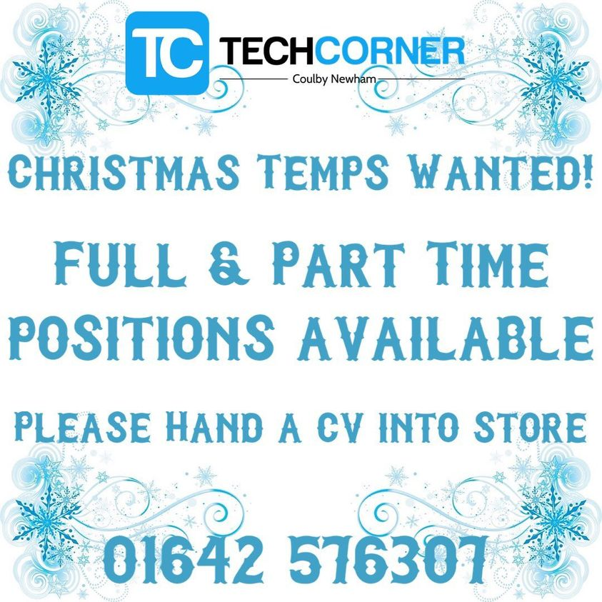 Tech Corner  Vacancies